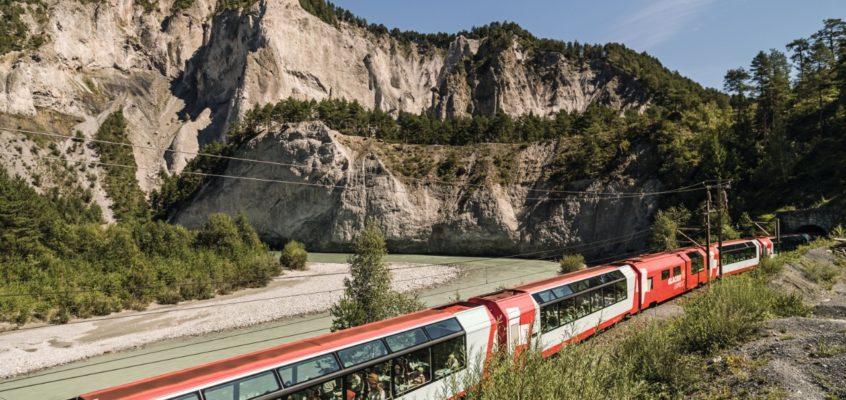 PONTI DI PRIMAVERA con il Bernina Express